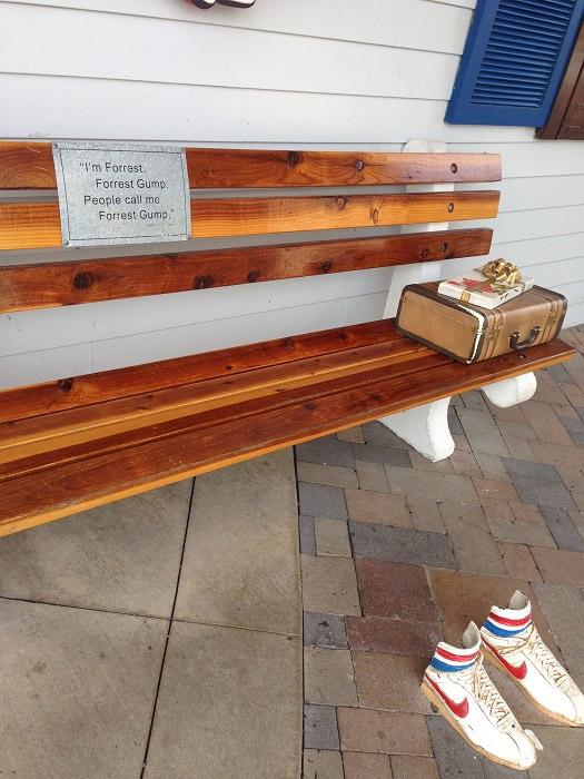 フォレストガンプのベンチ