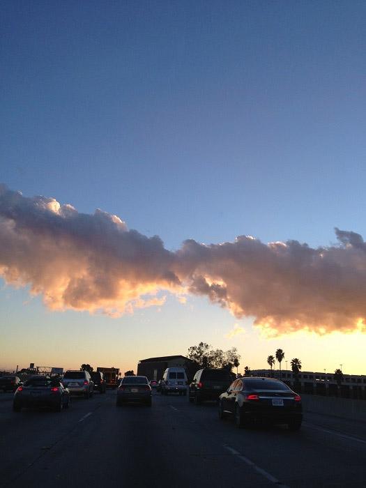 オーロラの雲