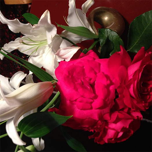 齋藤家自宅に咲いた薔薇