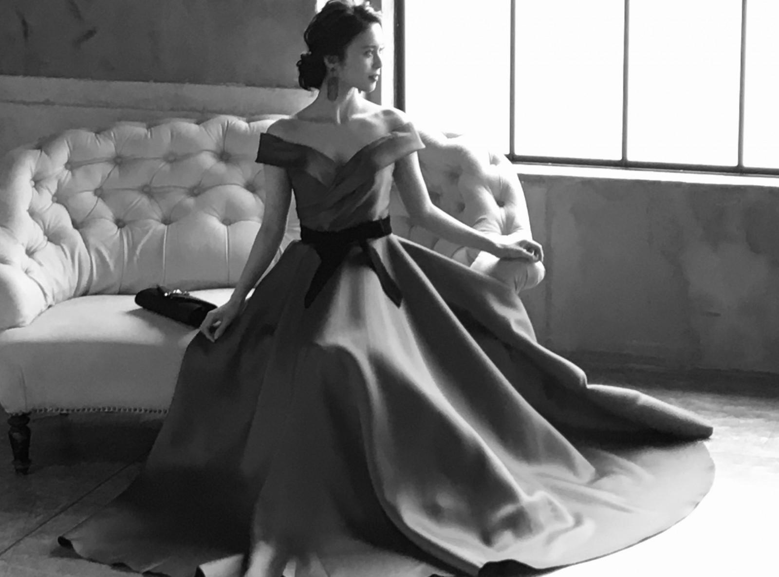 ドレスでイメージチェンジ